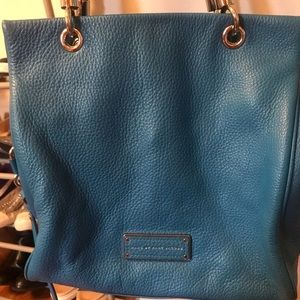 Marc by Marc Jacobs blue purse